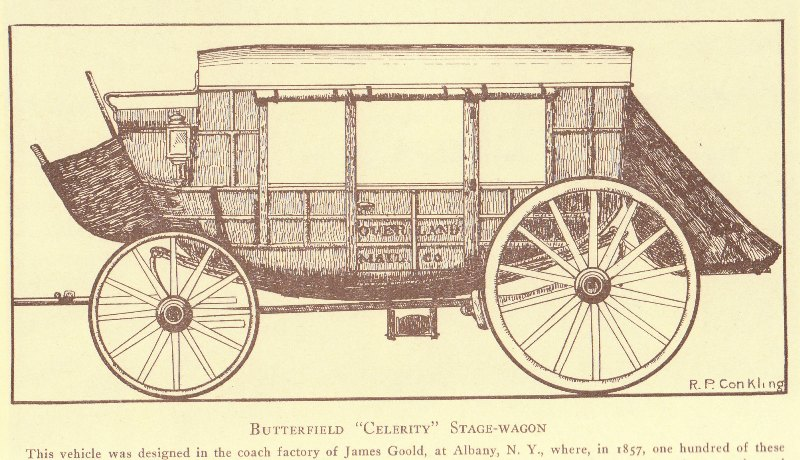 Stagecoaches through the West: First contract in the West