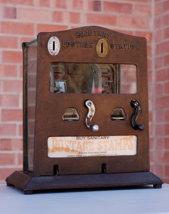 Stamp dispenser