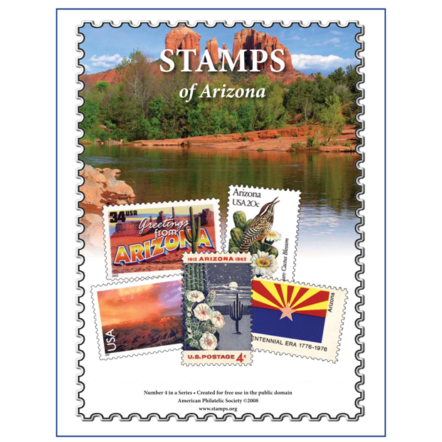 Stamps of Arizona album