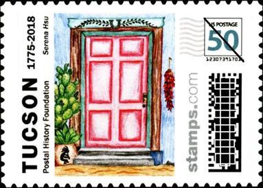 tucson birthday stamp design winner postal history foundation