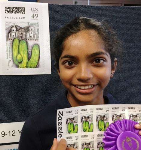 Tanvi Narendran and her grand winning design