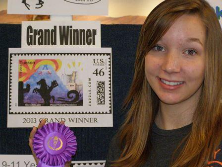 2013 Grand design winner Sierra McLean